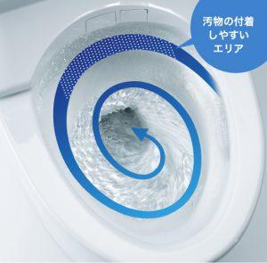 トルネード洗浄トイレリフォーム